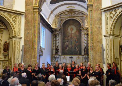 8. tweede optreden, in de kapel van het Convento de Corpus Christi